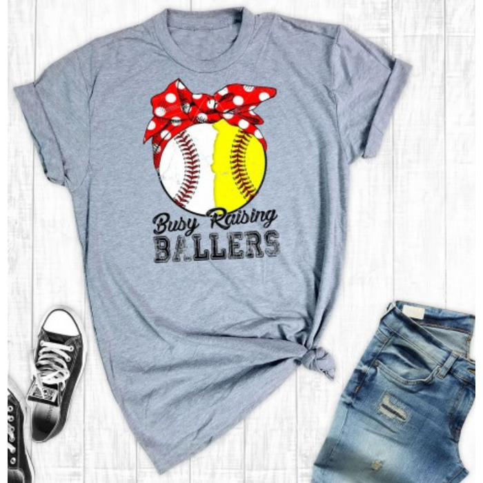 Raising Ballers Softball & Baseball T-Shirt