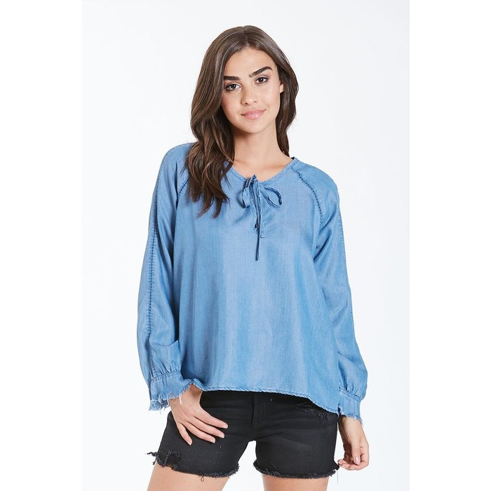Pacific Isabella Blouson Sleeve Top