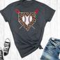 Baseball Leopard Diamond T-Shirt