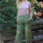 Tropical  Wide Leg Pants