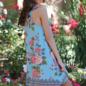 Aqua Mock Neck Knit Dress