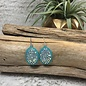Turquoise AB Oval Earrings