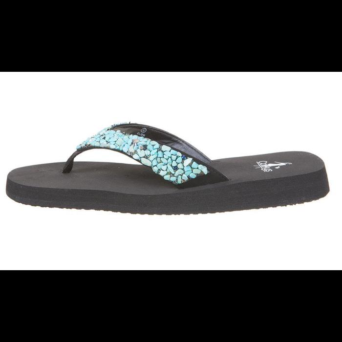 Turquoise Elien Flip Flop