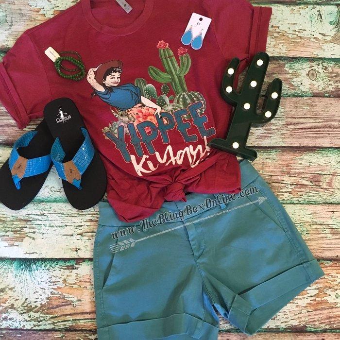 Laguna Blue Hampton Comfort Shorts