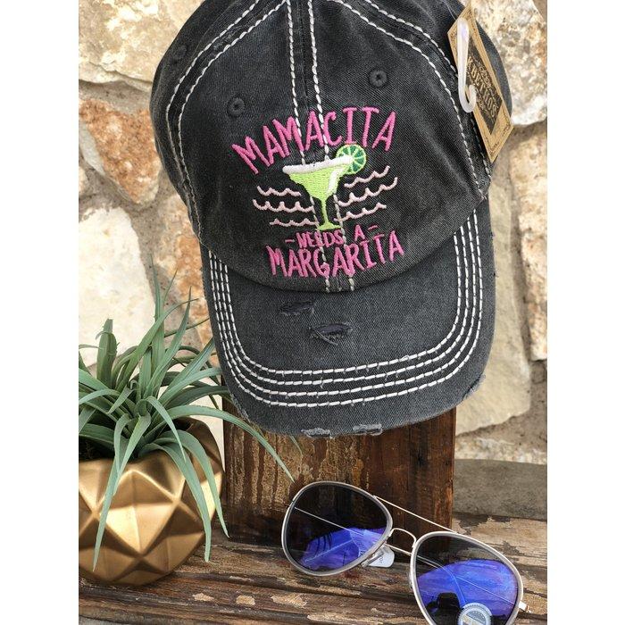 Black Mamacita Needs Margarita Hat