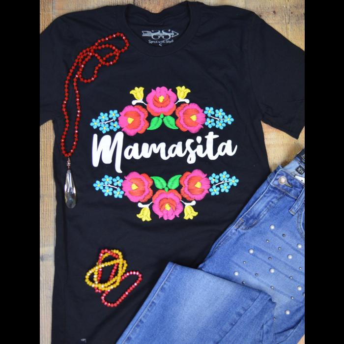Black Mamacita Graphic T-Shirt