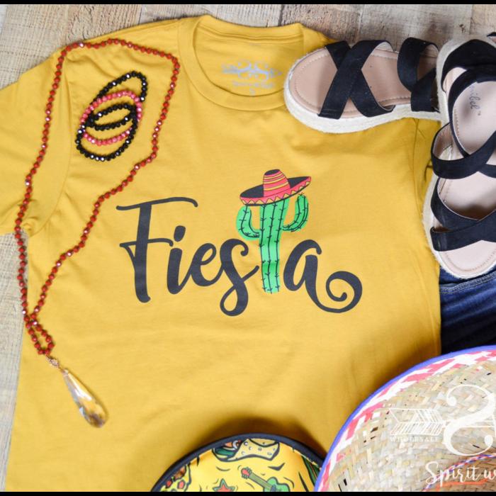 Fiesta Mustard Cactus T-Shirt