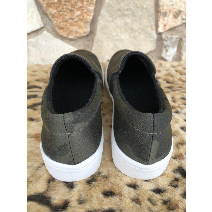 Camo Slip on Sneaker SIZE 6