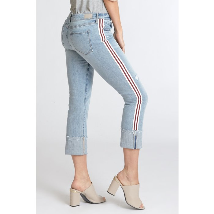 Finders Keepers Playback Cuffed Jeans