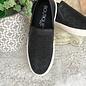 Darlene - Black Slip On Sneakers
