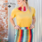 Cattle Kate Serape Mini Skirt