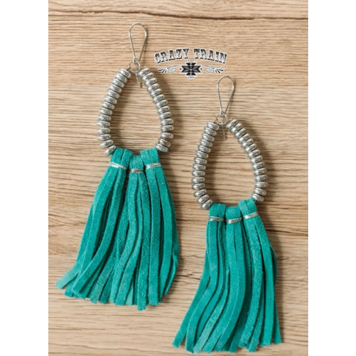 Turquoise Rio Grande Earrings