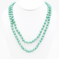 """Mint 60"""" Round Beaded Necklace"""