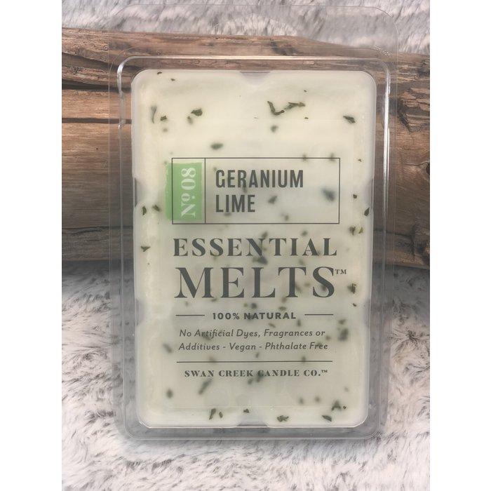 Swan Creek Geranium Lime Essential Oil Melts