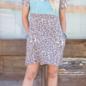 Cripple Creek Leopard & Turquoise Pocket Dress