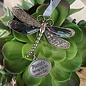 Friends Bring Joy to Every Day Dragonfly Ornament