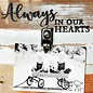 Always In Our Hearts 8x8 Reclaimed Wood Clip Frame