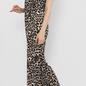 Leopard Print Button Up Jump Suit