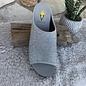 Silver Festina Glitter Wedge Sandal