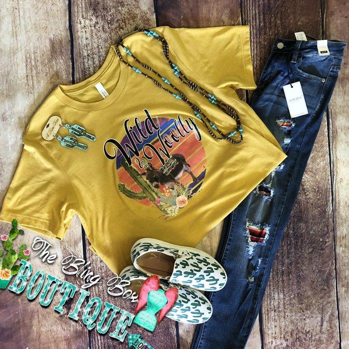 Mustard Wild & Woolly Donkey Shirt