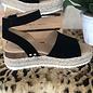 Black Topic Platform Sandals