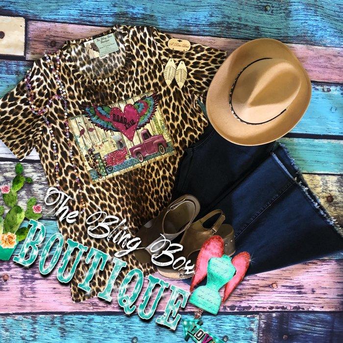 Leopard Road Tripper Truck Shirt