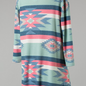 Arizona Aztec Mint Mix Pocket Top