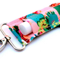 Coral Cactus LippyClip Lip Balm Holder