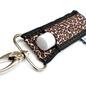 Leopard Print LippyClip Lip Balm Holder