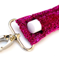 Pink Glitter LippyClip Lip Balm Holder