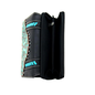 Black & Turquoise Trinity Ranch Tooled Collection Secretary Style Wallet