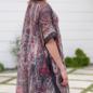 Burgundy Namastay Tassel Kimono