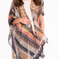 ONE SIZE - Fall Fiesta Tassel Kimono