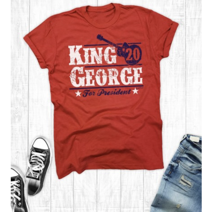 King George for President 2020 Red T-Shirt