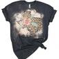 Distressed Leopard Texas T-Shirt