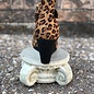 Sunburst Leopard Wedge Shoe