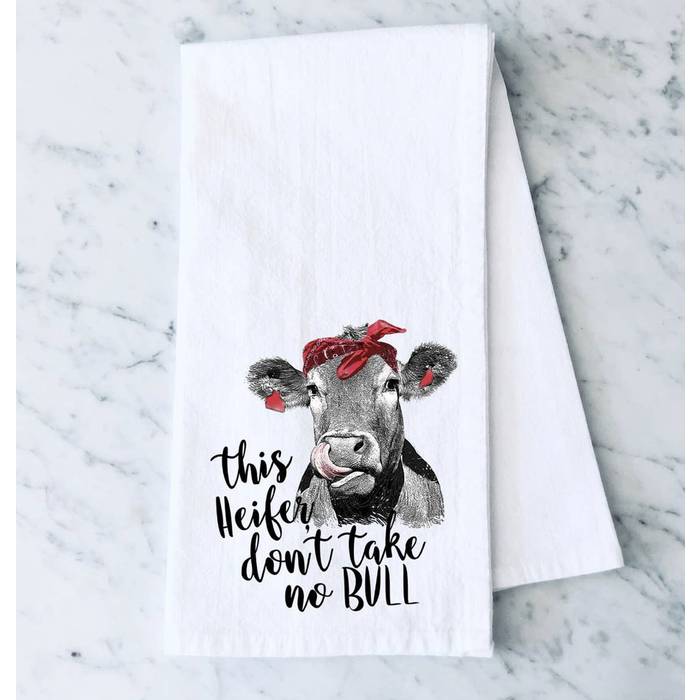 This Heifer Dont Take No Bull Towel
