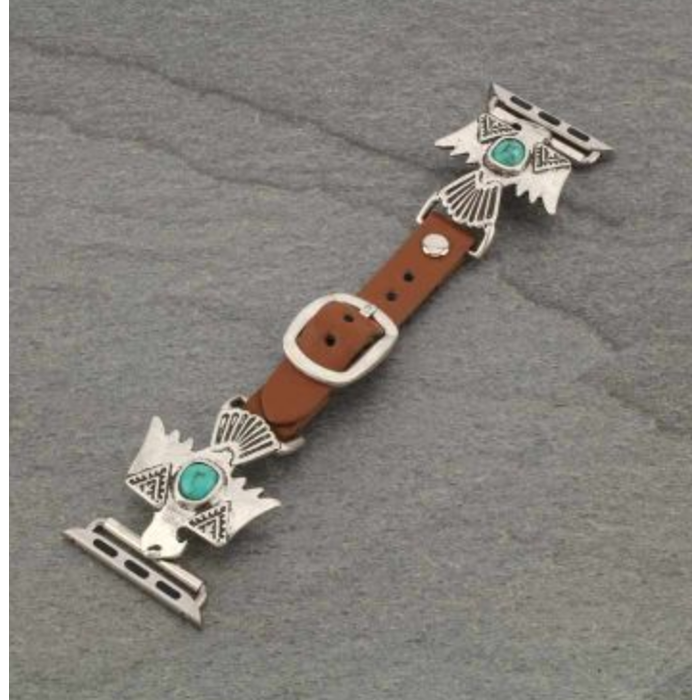 Western Thunderbird Apple Watch Leather Band