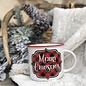 Merry Christmas Buffalo Plaid Mug