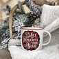 It's The Most Wonderful Time of The Year Buffalo Plaid Mug