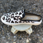 Abbott - Snow Leopard Cowhide Slip On Tennis Shoe