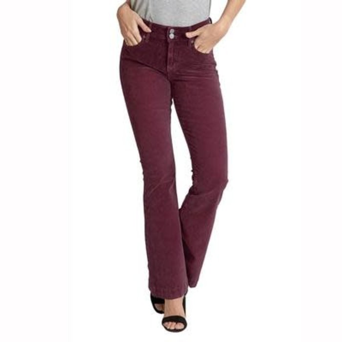 Mulberry Sadie Corduroy High Rise Flare Jeans