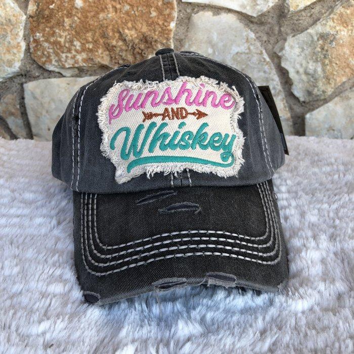 Sunshine & Whiskey Ball Cap