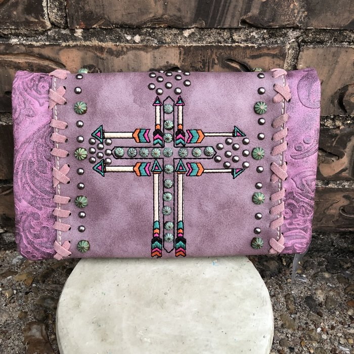 Bling Clutch Wallet Crossbody Bag - S