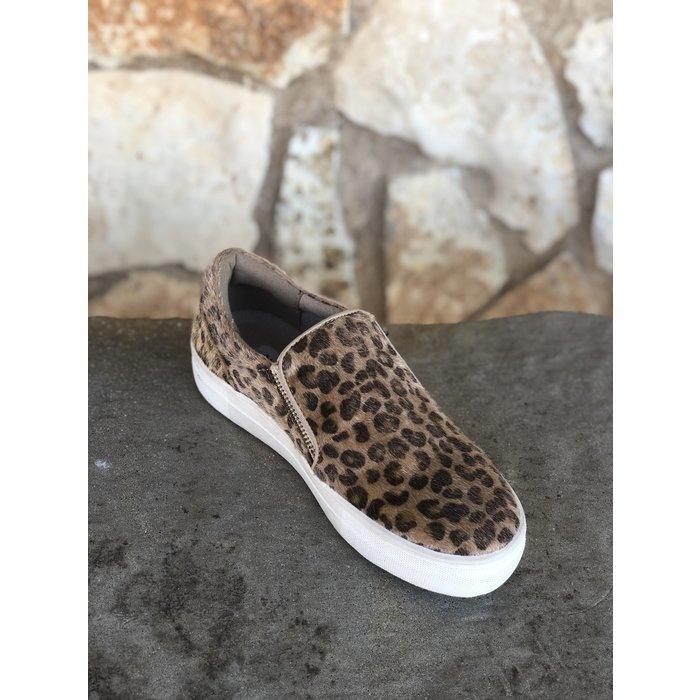 Leopard Simmer Tennis Shoe