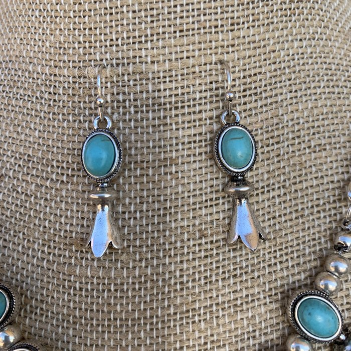 Small Squash Necklace & Earring Set