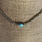 Turquoise Stone Crystal Choker
