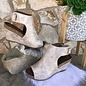 Calypso Gold Metallic Wedge Shoe