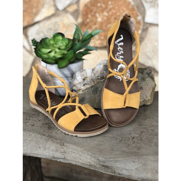 Yellow Destiny Sandal