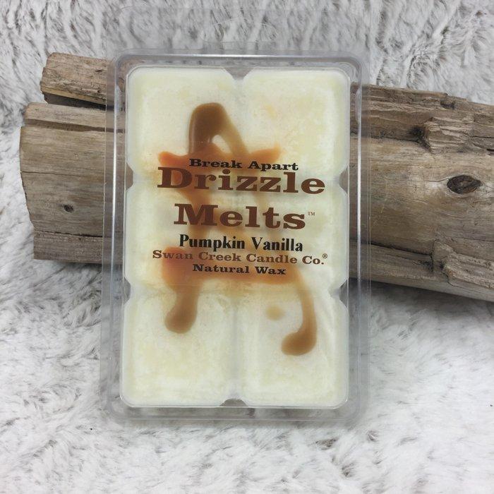 Swan Creek Pumpkin Vanilla Drizzle Melts